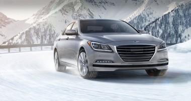 Parking the 2017 Genesis G80