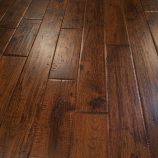 Go For The Painted Wood Flooring For Designer Look
