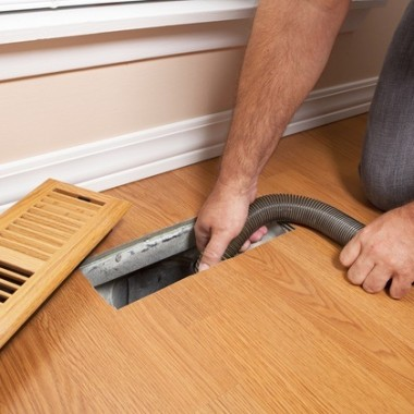 Improve the indoor air quality by performing air duct cleaning